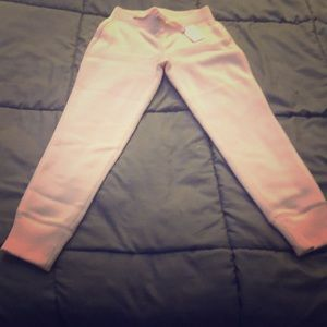 GAP Kids Light Pink Drawstring Joggers S (6-7)